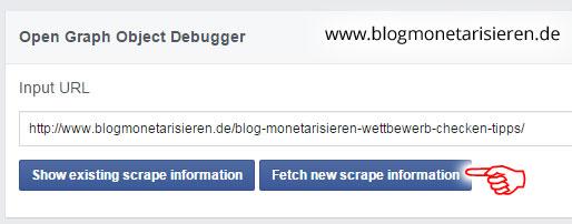 facebook-debugger-deutsch