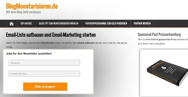 emailformular-header